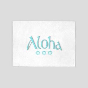 ALOHA! 5'x7'Area Rug