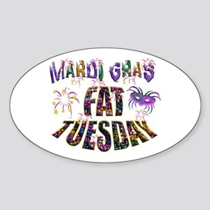 Fat Tuesday Sticker