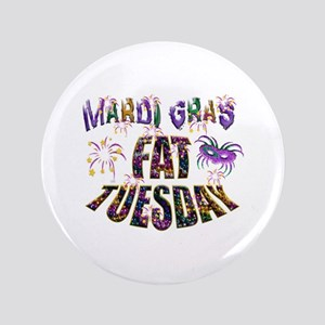 "Fat Tuesday 3.5"" Button"