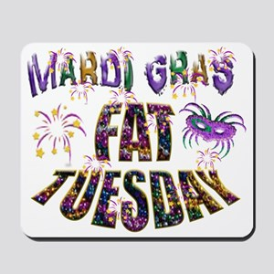 Fat Tuesday Mousepad
