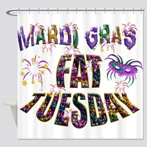 Fat Tuesday Shower Curtain