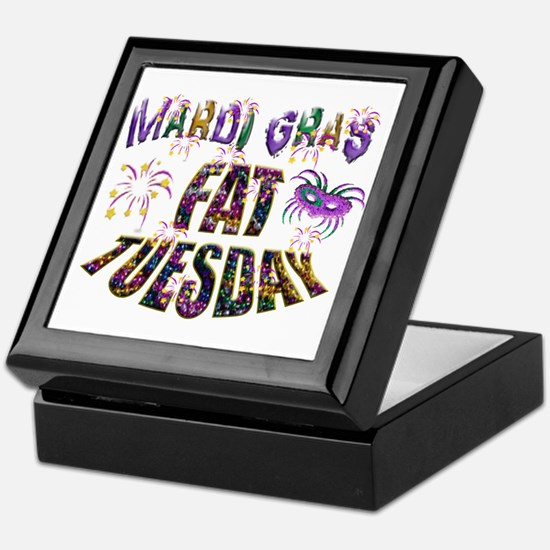 Fat Tuesday Keepsake Box