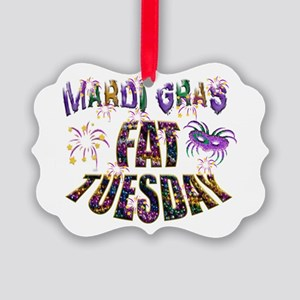 Fat Tuesday Picture Ornament