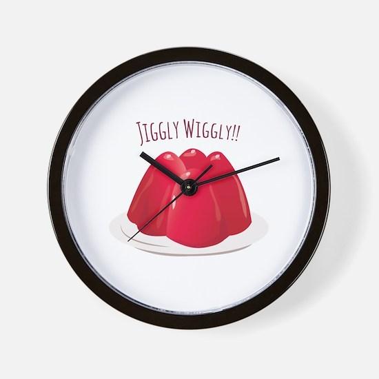 Jiggly Wiggly!! Wall Clock