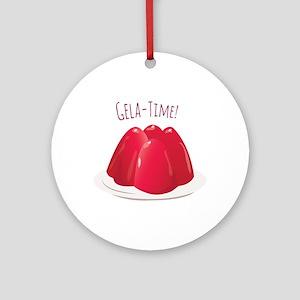 Gela - Time! Ornament (Round)