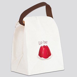 Gela - Time! Canvas Lunch Bag