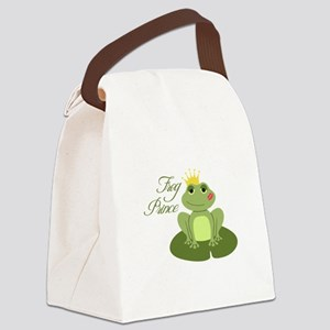 The Frog Prince Canvas Lunch Bag