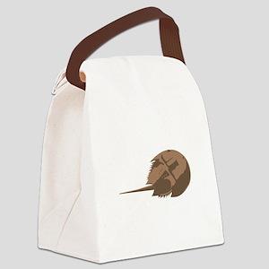 Horseshoe Crab Canvas Lunch Bag