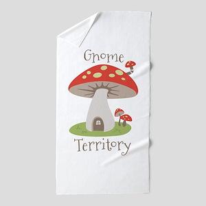 Gnome Territory Beach Towel