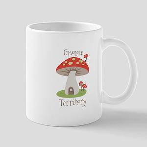 Gnome Territory Mugs