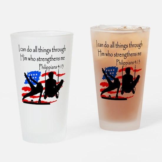 WINNING GYMNAST Drinking Glass