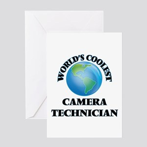 Camera Technician Greeting Cards