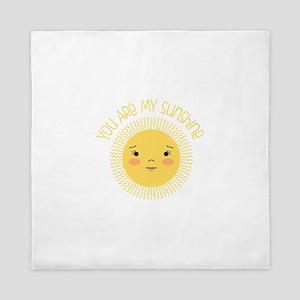 My Sunshine Queen Duvet