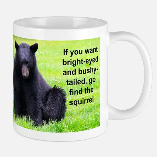I'm Up Stewie the Alaskan Black Bear Mugs