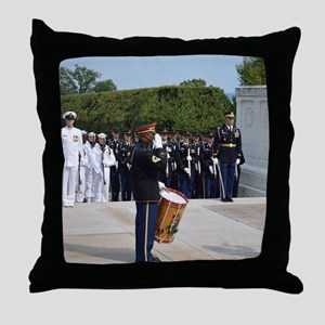 Tomb of the Unknown Soldier Throw Pillow