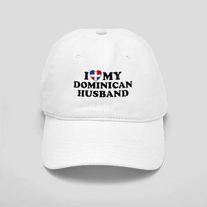 I Love My Dominican Husband Cap