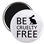 Be Cruelty-Free Bunny Logo Magnets (10 Pack)