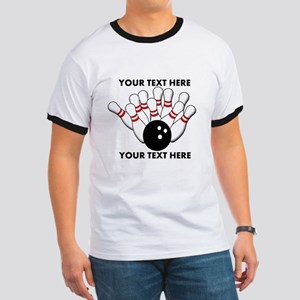 Personalized Bowling Light T-Shirt