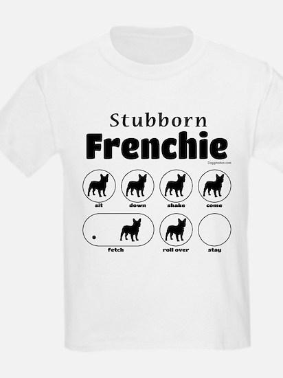 Stubborn Frenchie v2 T-Shirt