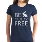 Be Cruelty-Free Bunny Logo T-Shirt (womens)
