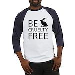Be Cruelty-Free Bunny Logo Baseball Jersey