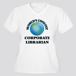 Corporate Librarian Plus Size T-Shirt