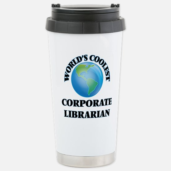Corporate Librarian Stainless Steel Travel Mug