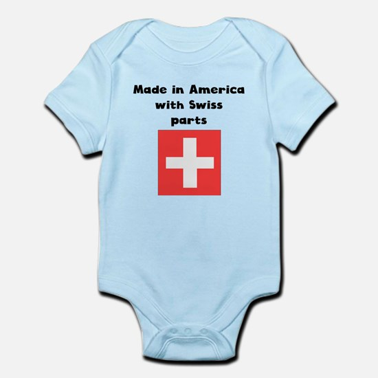 Made In America With Swiss Parts Body Suit