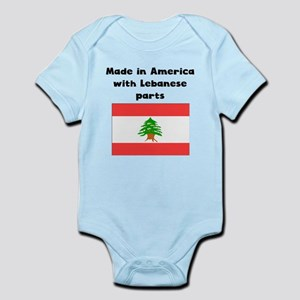 Made In America With Lebanese Parts Body Suit
