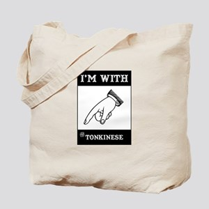 I'm With The Tonkinese Tote Bag