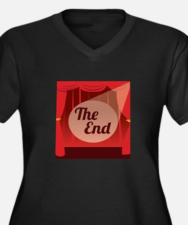 The End Plus Size T-Shirt