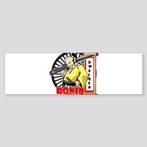 Kwaiken knife ronin Bumper Sticker