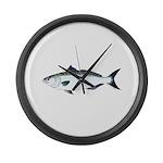 Australian Salmon kahawai Large Wall Clock