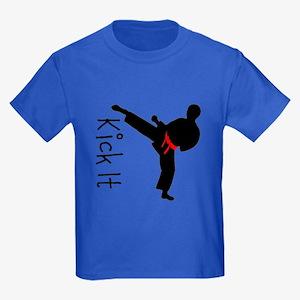 Kick It Kids Dark T-Shirt