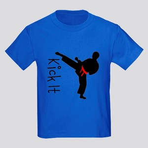Kick It Kids Dark T-Shirt