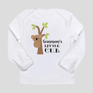 Granmom's Little Cub Long Sleeve Infant T-Shirt