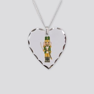 Nutcracker Necklace Heart Charm