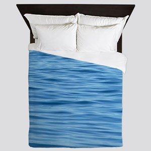 Peaceful Ocean Ripples Queen Duvet