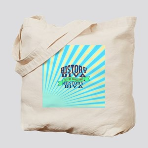 History Diva Tote Bag