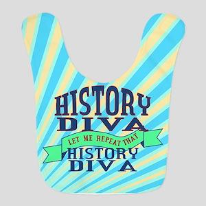 History Diva Bib