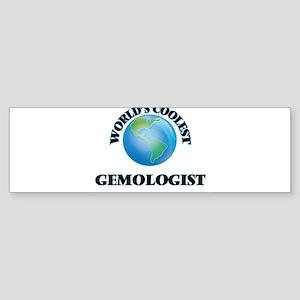 Gemologist Bumper Sticker