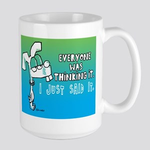 Funny Co-Edikit Thinking It- 15oz Mugs