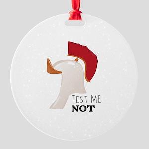 Test Me Not Ornament