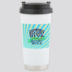 History Diva Stainless Steel Travel Mug