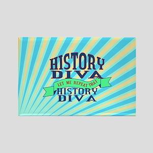History Diva Magnets