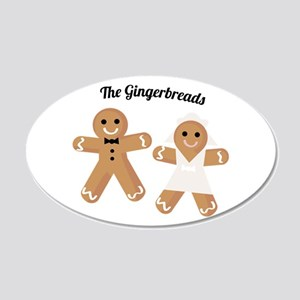 The Gingerbreads Wall Decal
