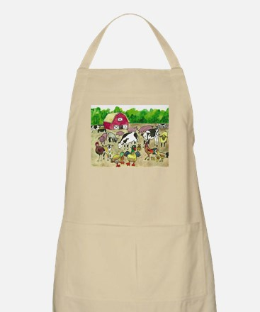 Barnyard Party Apron