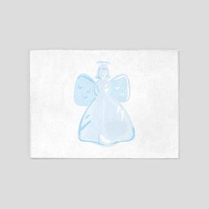 Holiday Angel 5'x7'Area Rug