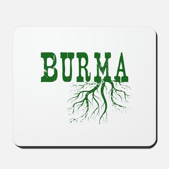 Burma Roots Mousepad