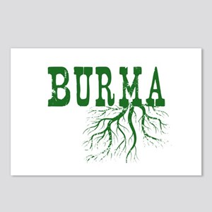 Burma Roots Postcards (Package of 8)